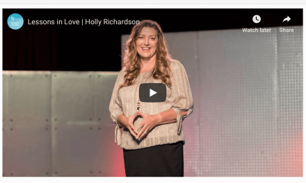 """Lessons in Love — Holly Richardson and the Mormon Channel discuss letting go of your idea of """"the perfect life"""""""