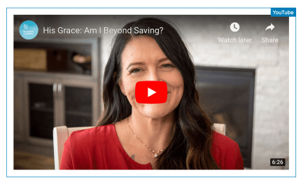 VIDEO: You are never beyond his saving GRACE (Mormon Channel)