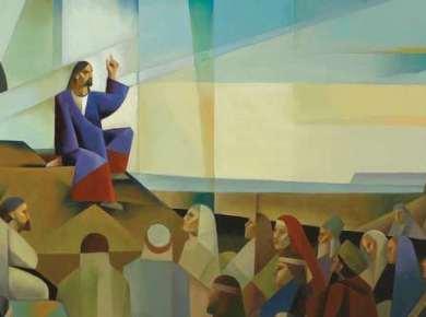 Come Follow Me Matthew 5 Luke 6 Christ sermon mount jorge cocco