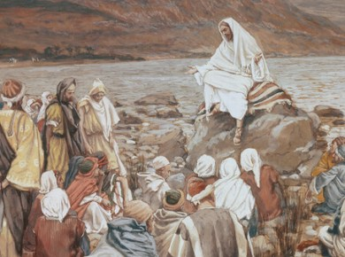 Jesus teaching sea Galilee Come, Follow Me LDS Mormon February 25–March 3