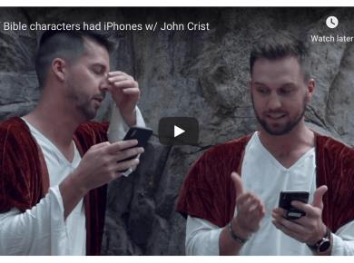 If Bible characters had iPhones funny LDS Mormon humor