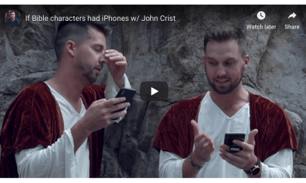 VIDEO: If Bible characters had iPhones . . .