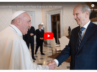 Rome Italy President Nelson Dedication LDS Mormon Hacker