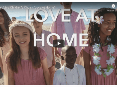 "One Voice Children's Choir sings ""Love At Home"" for the major motion picture #OtherSideOfHeaven2 #FireOfFaith"