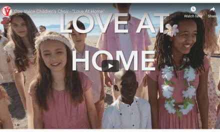 "VIDEO: One Voice Children's Choir sings ""Love At Home"" for the major motion picture #OtherSideOfHeaven2 #FireOfFaith with sneak peek scenes from the movie!"