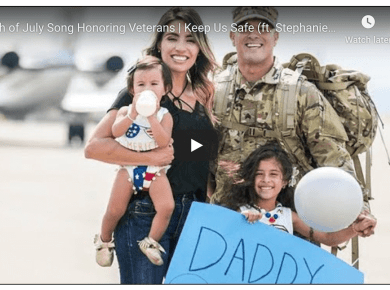 4th of July Song Honoring Veterans | Keep Us Safe (ft. Stephanie Madsen & Veteran Ryan Stream)