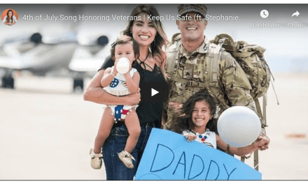 "Nadia Khristean honors veterans with cover of ""Keep Us Safe"" (ft. Stephanie Madsen & Veteran Ryan Stream)"