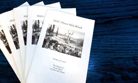 How to create and print a Latter-day Saint (Mormon) sacrament meeting program