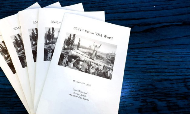 How to create and print a Latter-day Saint (Mormon) sacrament meeting program