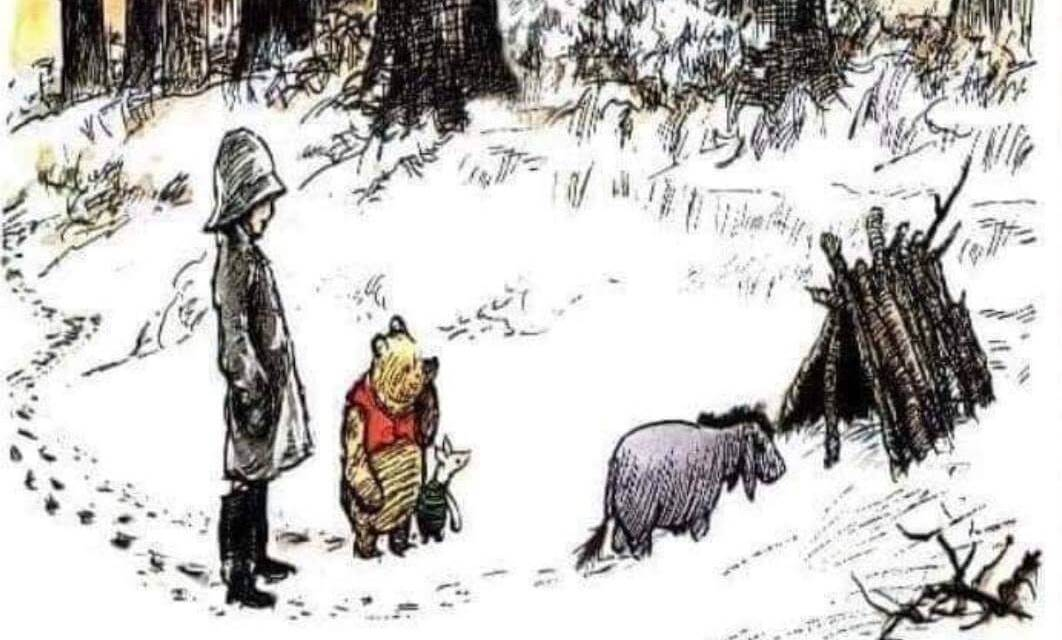 What Winnie The Pooh and Piglet teach us about the proper way to minister #LightTheWorld