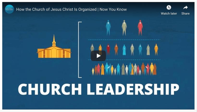 Church LDS Mormon Organization