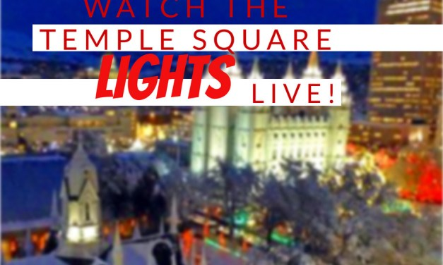 VIDEO: Watch the Christmas lights LIVE at Temple Square!