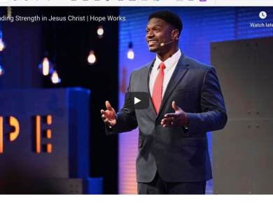 VIDEO: Yahosh Bonner — Finding Strength in Jesus Christ | Hope Works