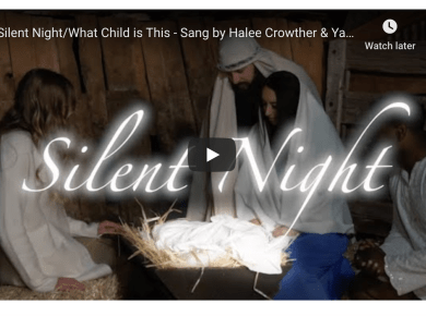 Silent Night/What Child is This - Sang by Halee Crowther & Yahosh Bonner