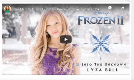 "VIDEO: Lyza Bull covers Idina Menzel, AURORA – Into the Unknown (From ""Frozen 2"") Panic! At The Disco"