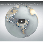 VIDEO: Visual Depiction of the Growth of The Church of Jesus Christ of Latter-day Saints (Mormon Church)