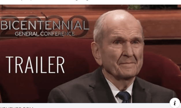 VIDEO: The fan-made April 2020 General Conference trailer that went viral!