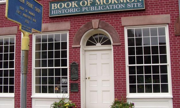 What did the E.B. Grandin acorn Book of Mormon printing press look like and how did it work?