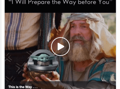Come Follow Me Baby Yoda Mandalorian Meme