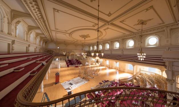 IMAGES: Inside the Salt Lake Temple during renovation