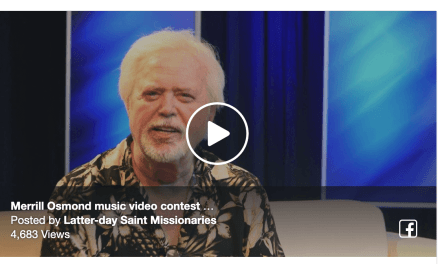 VIDEO: MERRILL OSMOND MUSIC VIDEO CONTEST
