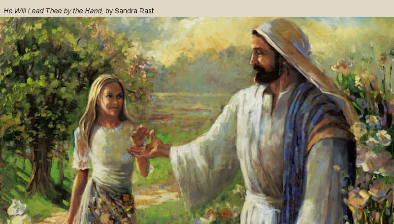 """COME, FOLLOW ME LESSON AIDS: February 24–March 1 """"A Marvelous Work and a Wonder"""" 2 Nephi 26-30 Sandra Rast"""