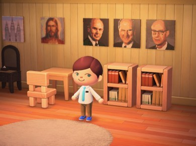 Nintendo Switch: Who says you can't have a Gospel-centered home in Animal Crossing? ? LDS Mormon