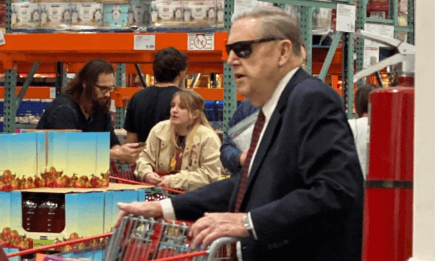 Apostle in a pandemic: Pic of Jeffrey R. Holland chillin' in Costco with some fly sunglasses during a pandemic #corona #covid18