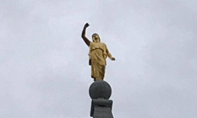 Moroni lost his trumpet? Even Salt Lake temple is affected as Utah reels after #Covid19 is followed by #Earthquake