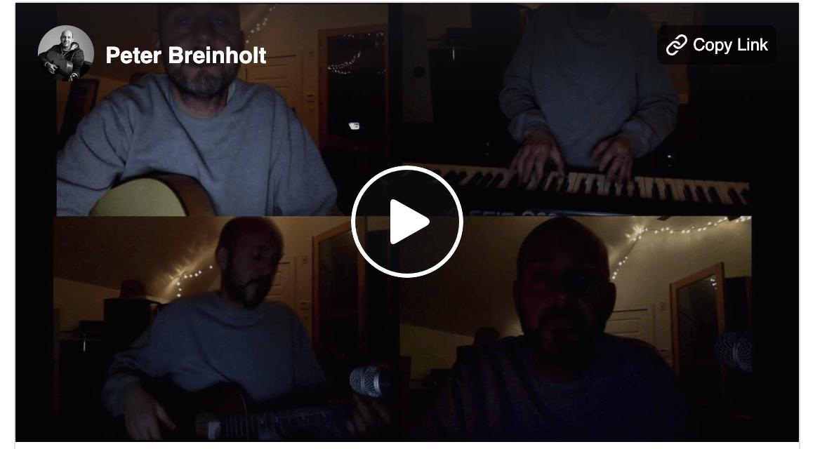 """Corona Concert 2020: Latter-day Saint artist Peter Breinholt shares an """"unfinished"""" song"""
