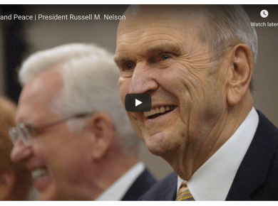 Joy and Peace | President Russell M. Nelson