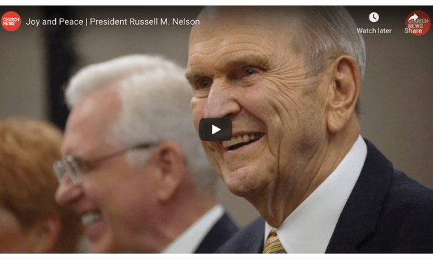 VIDEO: Joy and Peace | President Russell M. Nelson