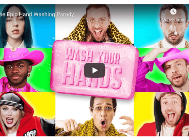 VIDEO: The Epic Hand Washing Parody by Peter Hollens Mormon LDS Corona Covid