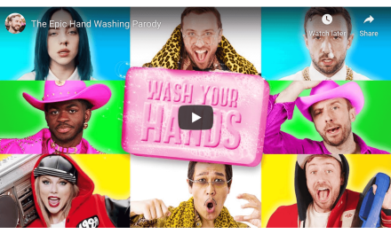 VIDEO: The Epic Hand Washing Parody by Peter Hollens