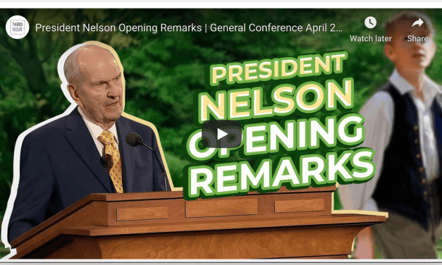 VIDEO: President Nelson Opening Remarks | General Conference April 2020 (From Third Hour)