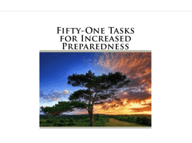 DOWNLOAD THIS BOOK: FIFTY-ONE TASKS FOR INCREASED PREPAREDNESS (KINDLE EDITION) BY DAVID DYE