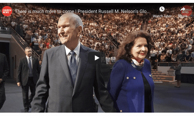 VIDEO: There is much more to come | President Russell M. Nelson's Global Ministry (Church News)