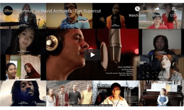 "VIDEO: ""Glorious"" by David Archuleta – Fan Supercut"