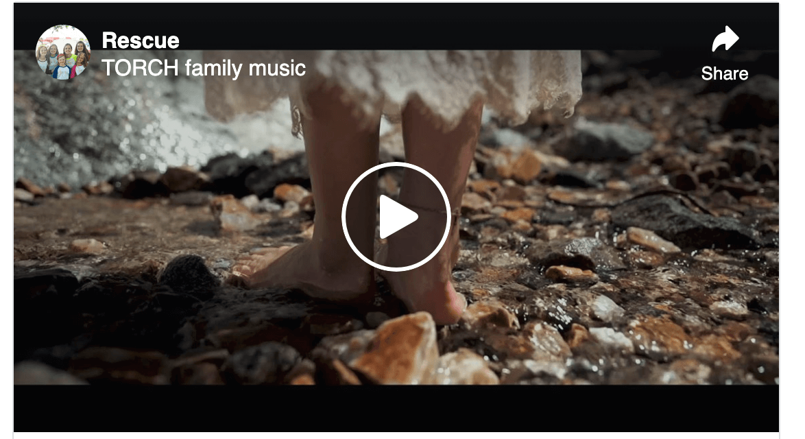"""VIDEO: """"Rescue"""" by Torch Family Music"""