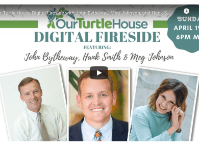 VIDEO: Our Turtle House Digital Fireside with John Bytheway, Meg Johnson, and Hank Smith!
