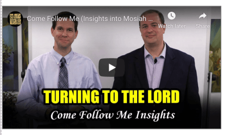 Book of Mormon Central: Come Follow Me Insights for Mosiah 7-10 (April 27-May 3)