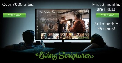 Living Scriptures ad