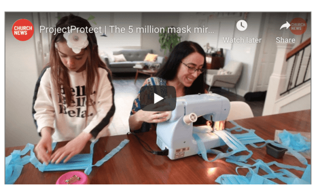 VIDEO: ProjectProtect | The 5 million mask miracle