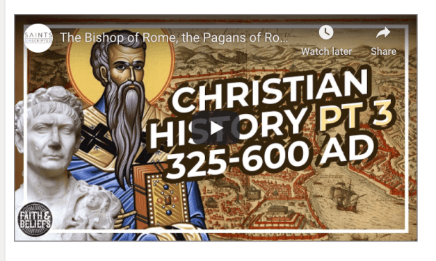 VIDEO: The Bishop of Rome, the Pagans of Rome, and the Fall of Rome (Saints Unscripted)