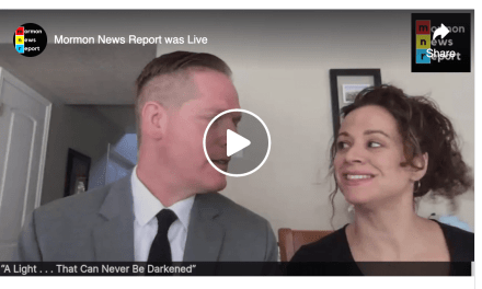 "VIDEO: COME FOLLOW ME with Mormon News Report | Moroni 7–9 ""May Christ Lift Thee Up"""