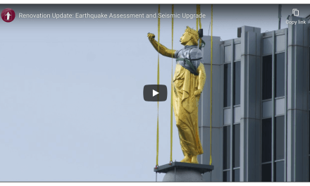 VIDEO: Renovation Update: Earthquake Assessment and Seismic Upgrade