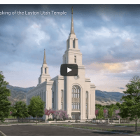 The Groundbreaking of the Layton Utah Temple