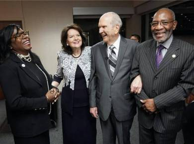Locking arms for racial harmony in America What the NAACP and The Church of Jesus Christ of Latter-day Saints are doing together