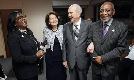 President Nelson joins NAACP senior leaders inviting equality and calling for racial reform and