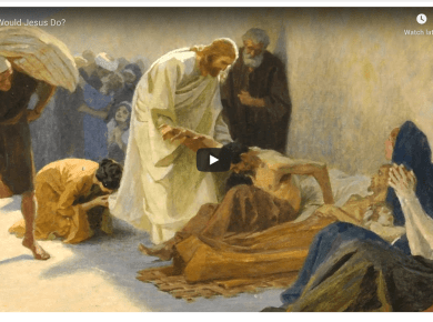 VIDEO: What Would Jesus Do? (Messages of Christ)